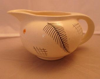 1950s Burleigh Balmoral milk jug, hand painted