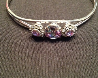 Swarovski bangle bracelet