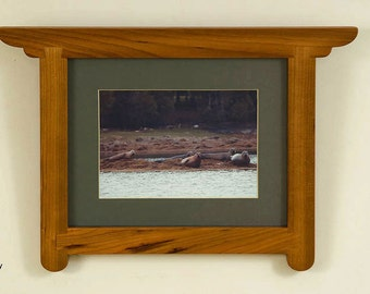 Crafts Mission dovetailed 10 by 8 Wall Picture Frames in cherry or mahogany