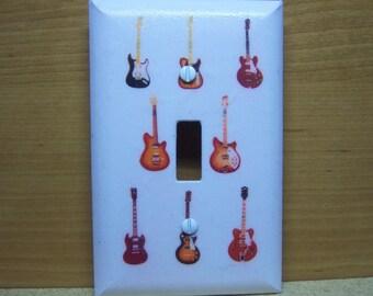 Light Switch Cover Guitars Print