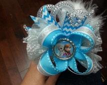 Frozen headband ,Elsa headband, Anna headband  ,frozen hair accessories, frozen bow