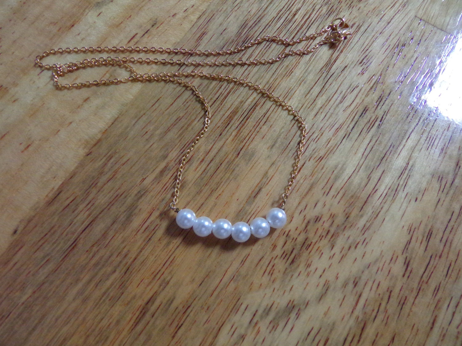 vintage authentic real pearl necklace a 20 by