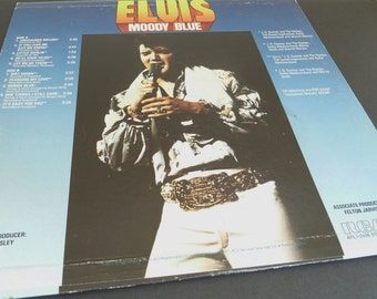 Vintage Elvis album Moody Blue