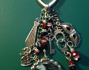 Fifty Shades of Grey Key Chain  Red Room of Pain