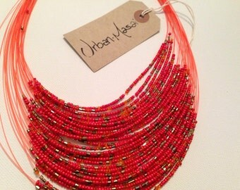 Red Masai Necklace