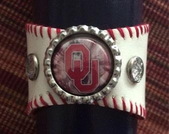 Oklahoma Sooners Wrist Cuff