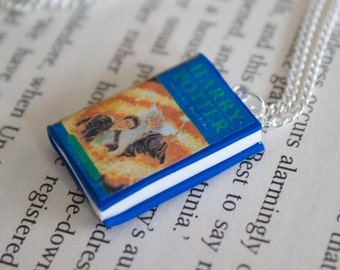 Harry Potter and the Half Blood Prince inspired book necklace