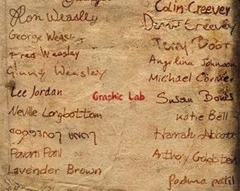 List of names of Harry Potter Dumbledore