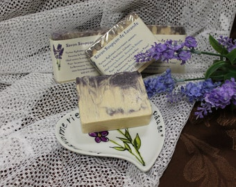 Hint of lavender soaps