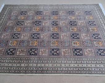 Size:9.5 ft by 6.7 ft Handmade Rug Afghan Best Garden Tree of Life Oriental Carpet