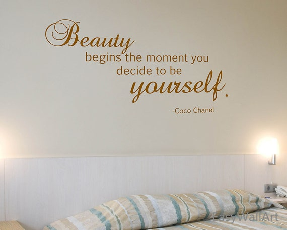 Coco Chanel Wall Decal Coco Chanel Quotes For Living Room