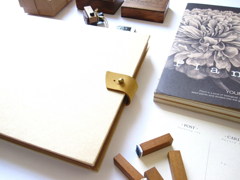 How to scrapbook baby book - 11 4 X 8 3 Light Beige Horizontal Kraft Scrapbook Album Wedding Guest Book Blank Scrapbook Baby Album Photo Albums Kraft Album