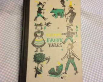 GRIMMS Fairy Tales - Vintage book
