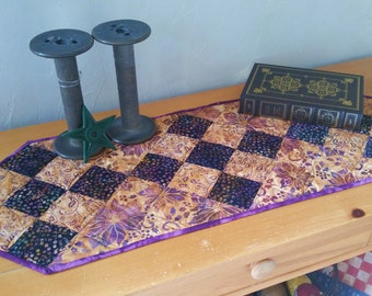 Nifty Nines Quilted Table Runner