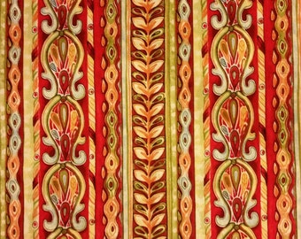 Murano - Border Stripe Fabric
