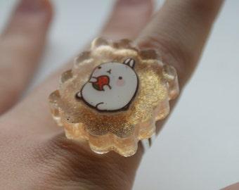 Molang resin ring