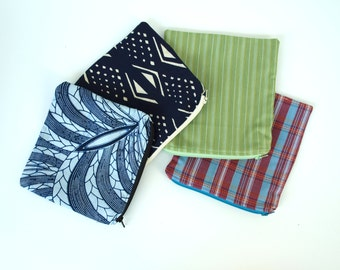 Reusable Sandwich and Snack bag, machine washable,zipper pouch