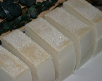 Warm Vanilla Sugar Goat's Milk 100% All Natural Soap Bar