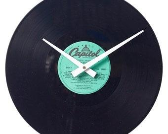 The Beatles - Rock 'n' Roll Music Volume 1 - Handmade Authentic Vinyl Clock