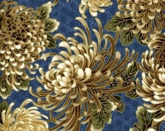 Popular Items For Chrysanthemum Fabric On Etsy