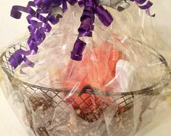 Lavender Gift Basket, Spa gift Basket