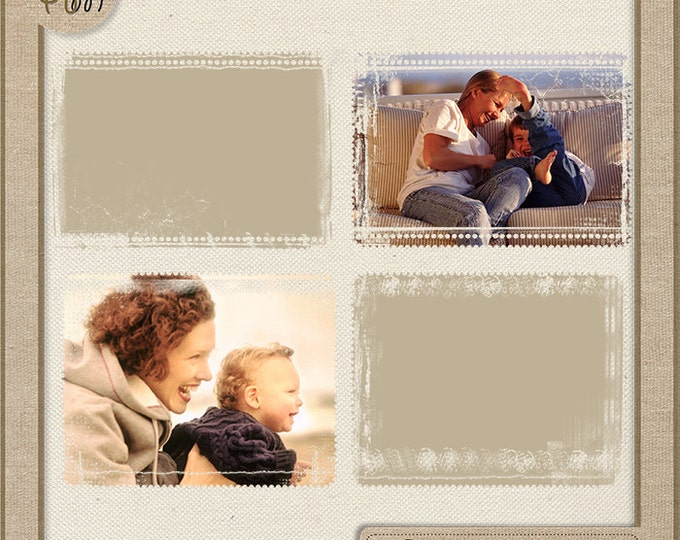 Photo Masks - Digital Scrapbook Overlays - Personal and Commercial Use. Photo Book. Photo album. Vol.83