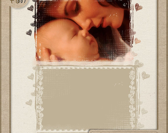 Photo Masks - Digital Scrapbook Overlays - Personal and Commercial Use. Photo Book. Photo album. Vol.14