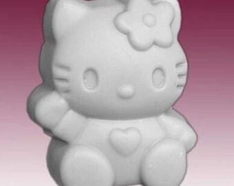Hello kitty Soap Mold Silicone Soap Mold Silicone Cat Soap Mold Kitty Fancy Mold DIY Soap Mold Craft Mold