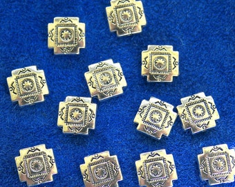 Southwest Style Beads  12 Beads   (9 mm)