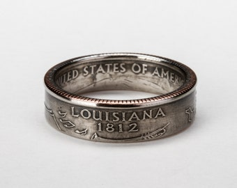 Louisiana State Quarter Ring
