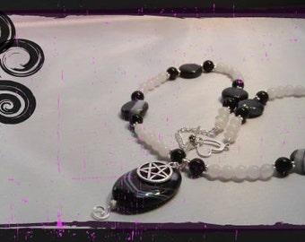 Brazlian Pendant with Pentagram charm
