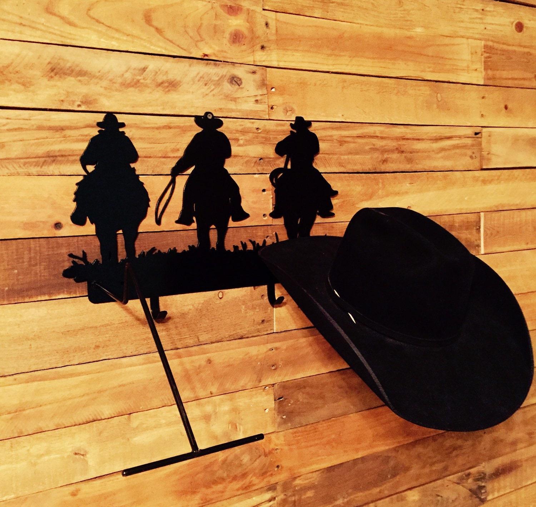 Western Metal Wall Art Cowboy Hat Rack Western Hat Rack