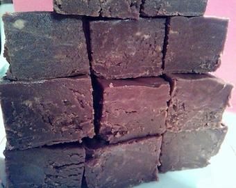 A Pound of Homemade Chocolate Fudge
