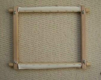 new ita 27x12 traditional rotary or scroll frame for cross stitch