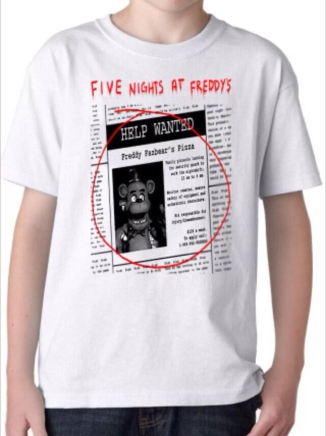 5 nights of freddy shirt