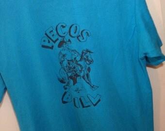 Vintage 90's Cowboy School T // PECOS BILL