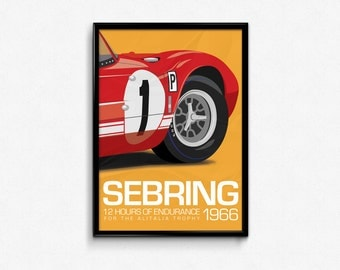 Ford GT40 Print