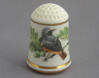 Franklin Thimble - Redstart (Garden Bird Series)