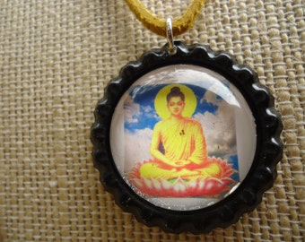 Beautiful Buddha pendant necklace.