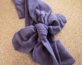 Adult Stretch Headband Grey
