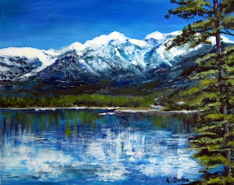 Lake Tahoe (Painting Print)