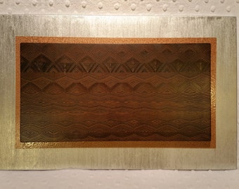 Reclaimed Wood wall art - Pine Mosaic