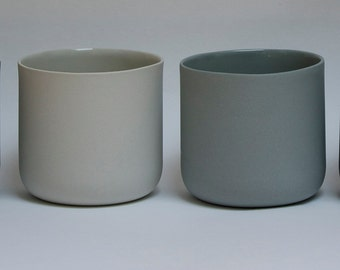 Set of 2 Porcelain Cups