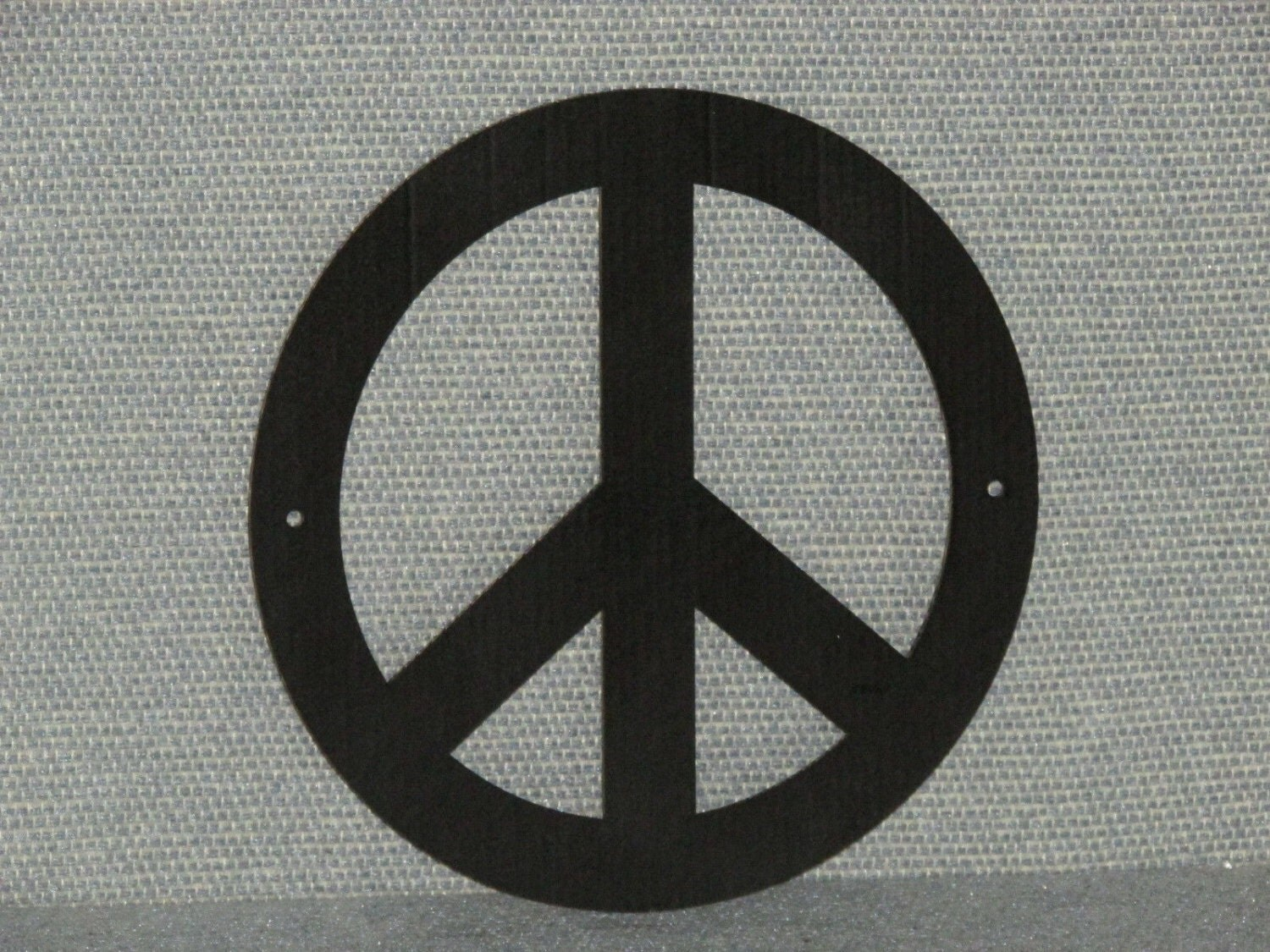 Peace Sign Wall Decor Plaque Wall Decor 8 Round Hippie