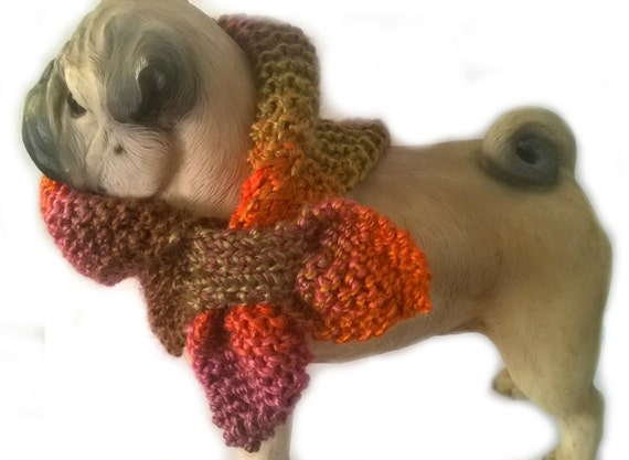 scarf scarves for dogs neck warmer by