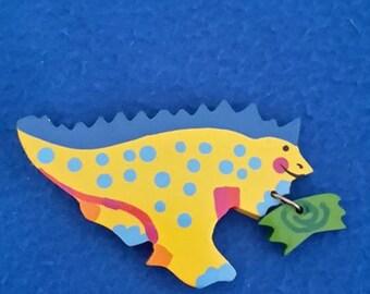 MAGNET SEVI original 80 's dinosaur find