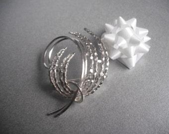 925 Silver modernist brooch - Andreas Daub