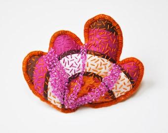 "Collection delirium Kashmir - brooch ""Roundel"""