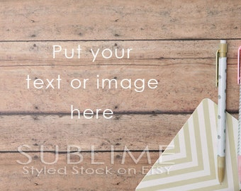 Styled Stock Photography / Stock Photo / Wood Background / Mock up / Instant Download / JPEG Digital Image / StockStyle-306