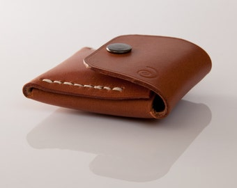 coin pouch, leather coin purse